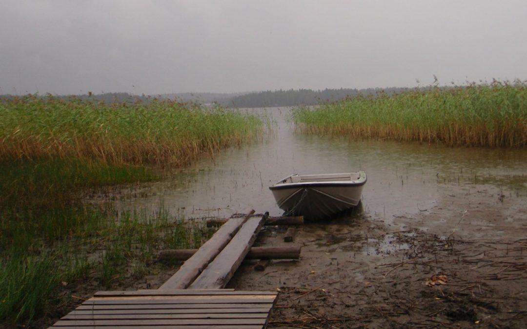 Sala- ja Ruuhijärvien pinnankorkeuksien vaihtelu jatkuu