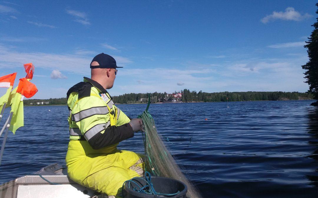 Iso-Kukkasen kalaston tila hyvä, Kivijärven tyydyttävä