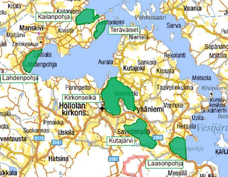 Natura-alueen hoitosuunnitelman päivitystyössä kuullaan asukkaita