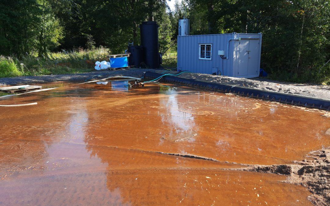 Kymijärven alusveden fosforinpoistoa kehitetään