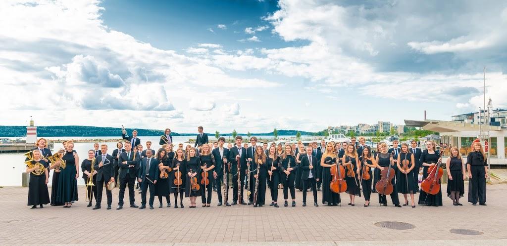 Orkester Nordenin ensimmäinen kesä Lahdessa