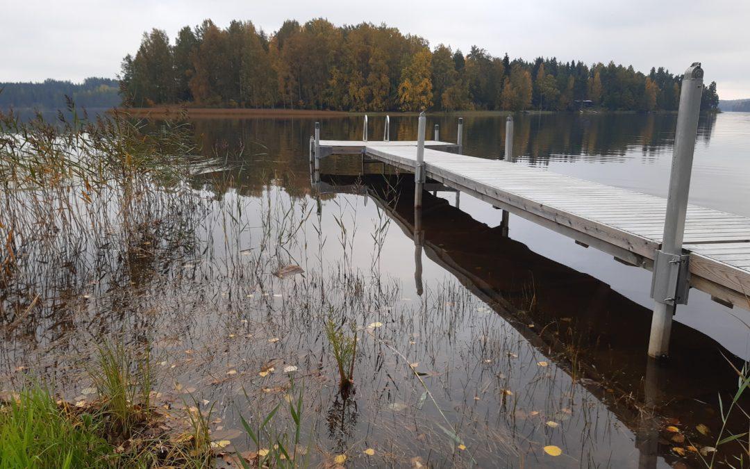 Sala- ja Ruuhijärven vedenkorkeuden nosto aiheuttaisi hyötyjä ja haittoja