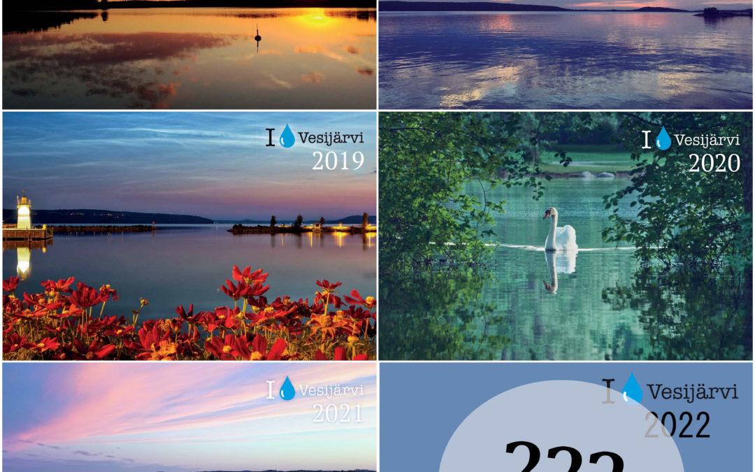 Osallistu kuvillasi Vesijärvi 2022-kalenteriin!